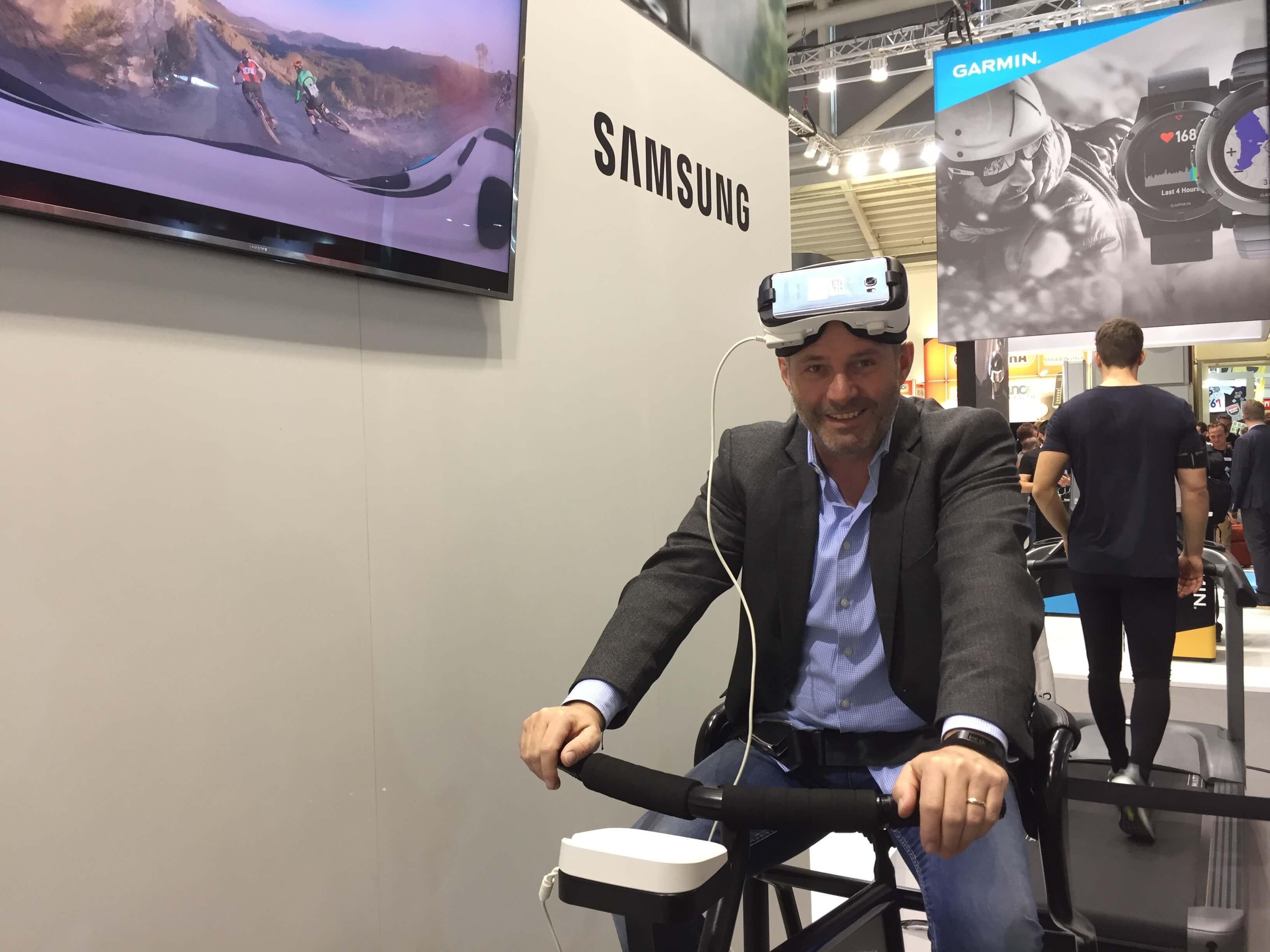 Christoph Ostler, ISPO 2017, Samsung
